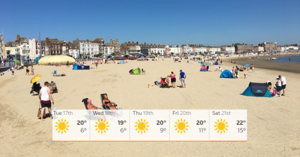 Dorset Set for September Heatwave