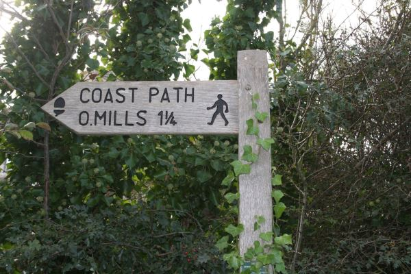 Signpost at Ringstead