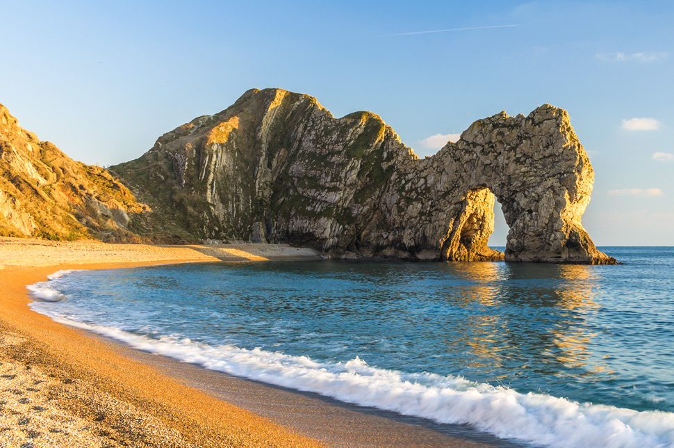 View of Durdle Door in Dorset