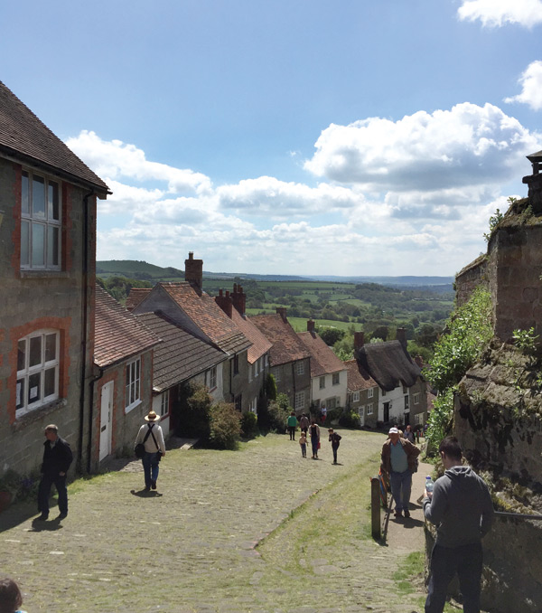Dorset Countryside - Gold Hill, Shaftesbury