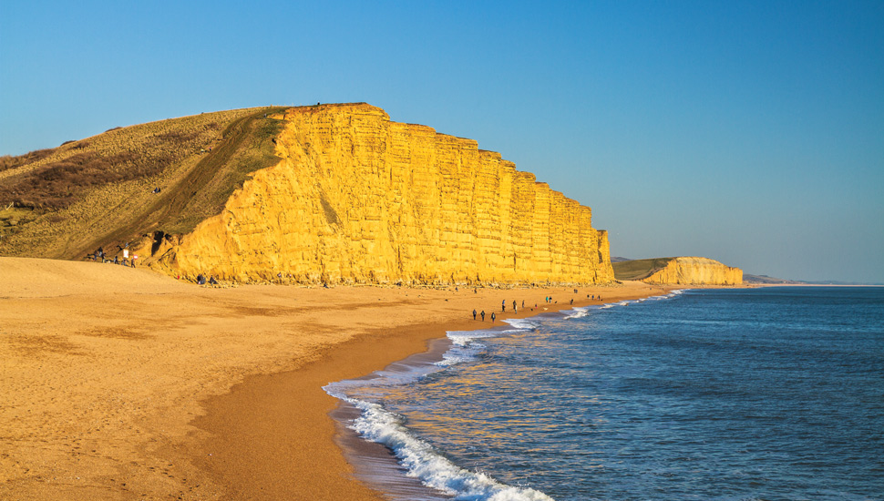 Broadchurch, aka West Bay in Dorset