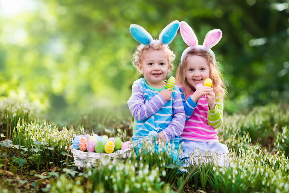 Easter events in Dorset - Easter egg hunt