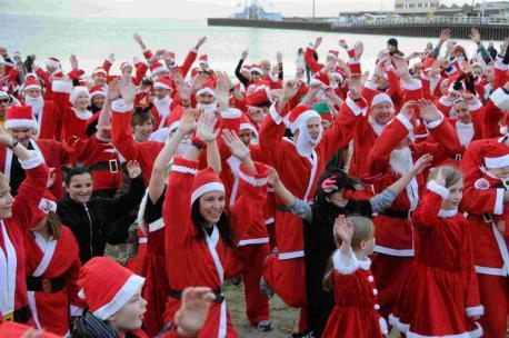 Chase the Pudding - Santa Fun Run