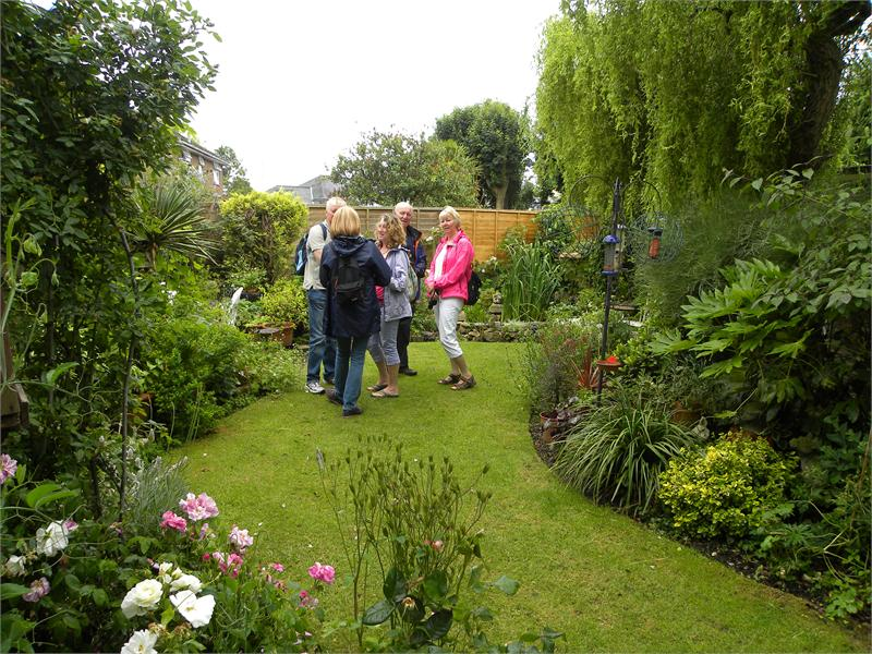 Wimborne in Bloom Open Gardens