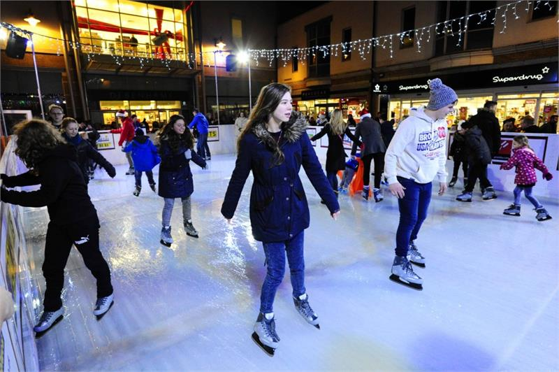Weymouth's REAL-ice Rink 2017