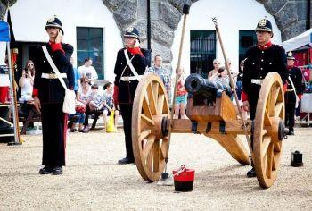 Nothe Fort Artillery Weekend