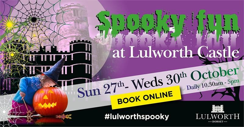 Spooky Fun at Lulworth
