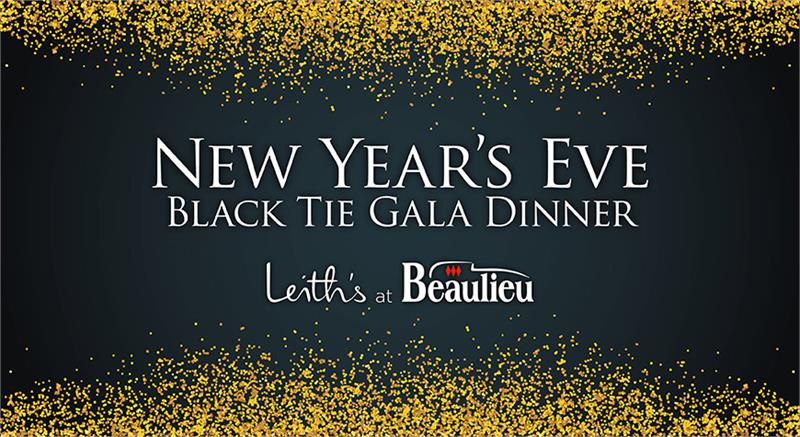 New Year's Eve Black Tie Gala Dinner