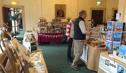 Upton House Christmas Craft Fair in Poole, Dorset
