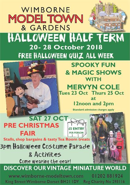 Halloween at Wimborne Model Town