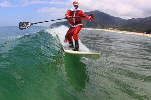 Santa's On The Water!