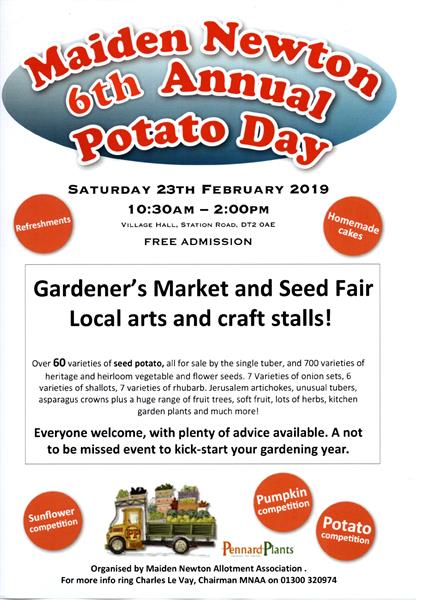 Maiden Newton Potato Day