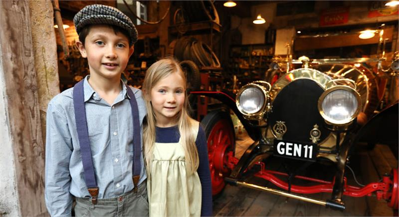 Hands-on Half-term at Beaulieu