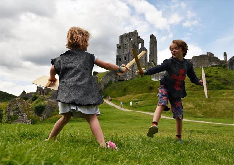 February half-term fun at King John's castle