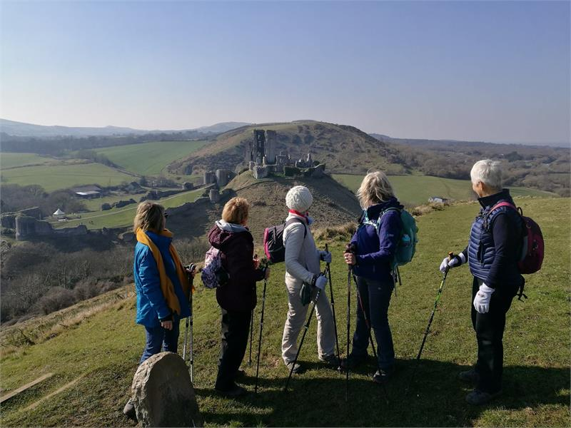 Nordic walking 3-part course from Corfe Castle