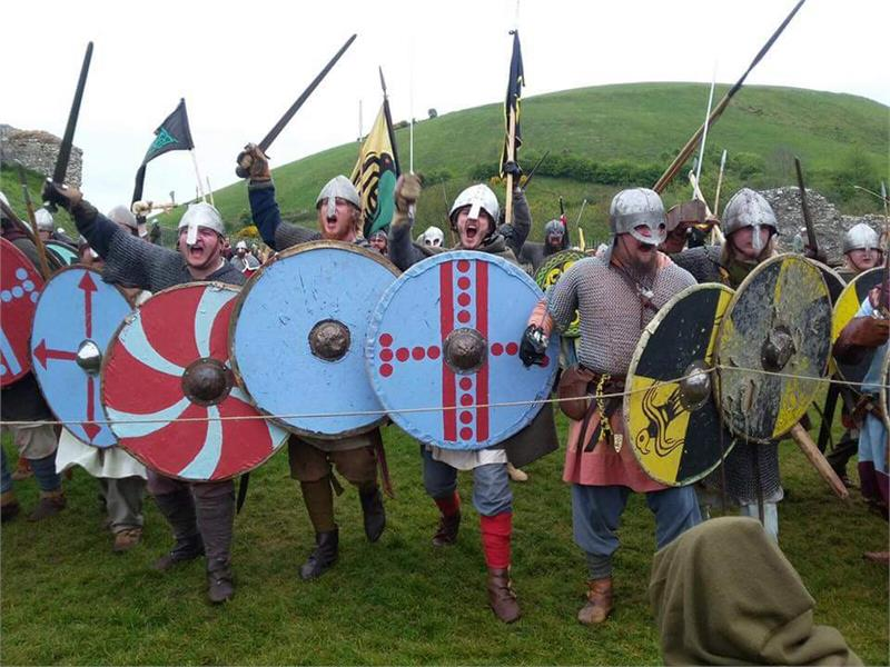 Saxons and Vikings: the siege of Wareham