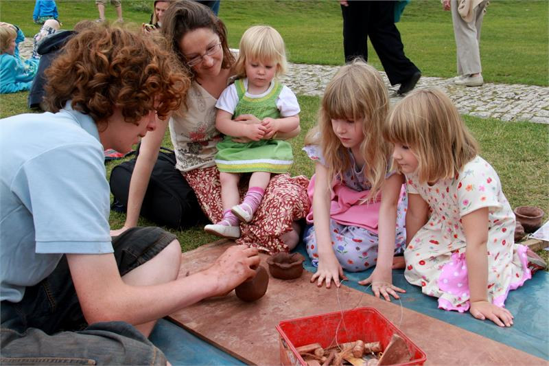Festival of Archaeology at Corfe Castle