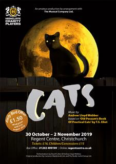 "Highcliffe Charity Players present ""Cats"""