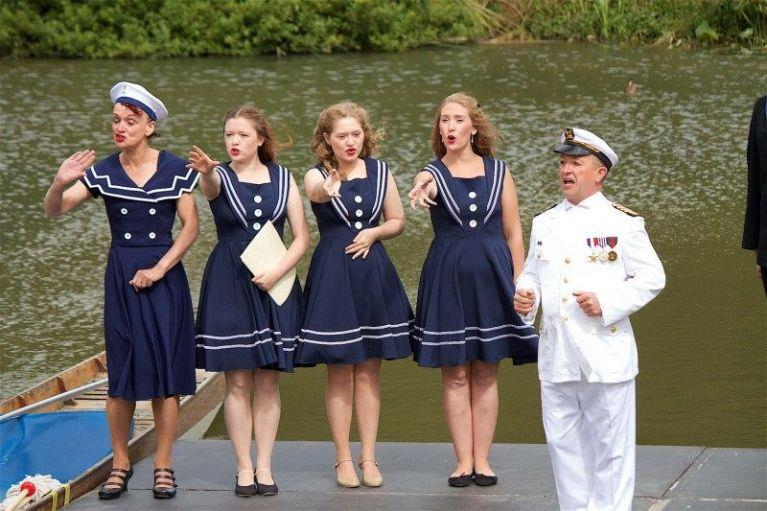 Outdoor Opera: HMS Pinafore