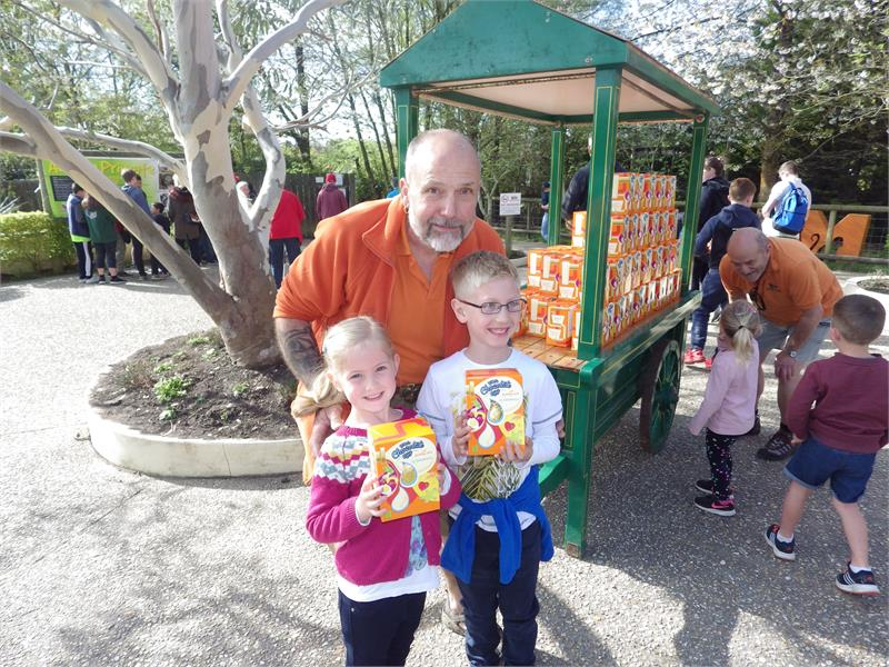 Easter Eggs-travaganza at Monkey World!