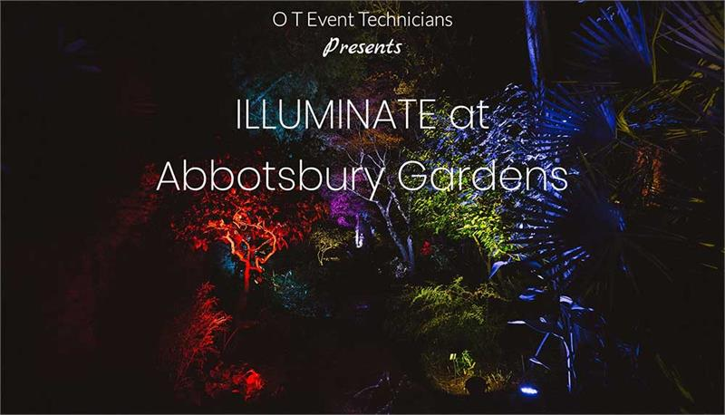 Illuminate at Abbotsbury Gardens