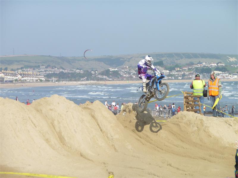 Weymouth beach motocross