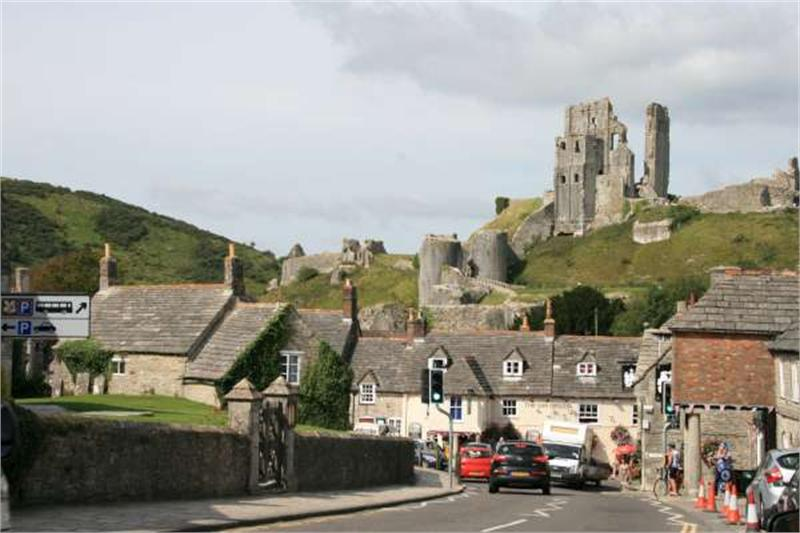 Corfe Castle Map